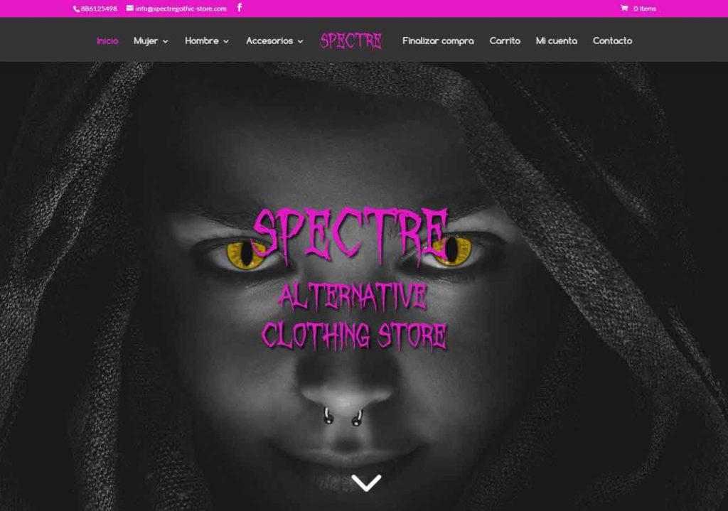 webficina portafolio web spectre portada