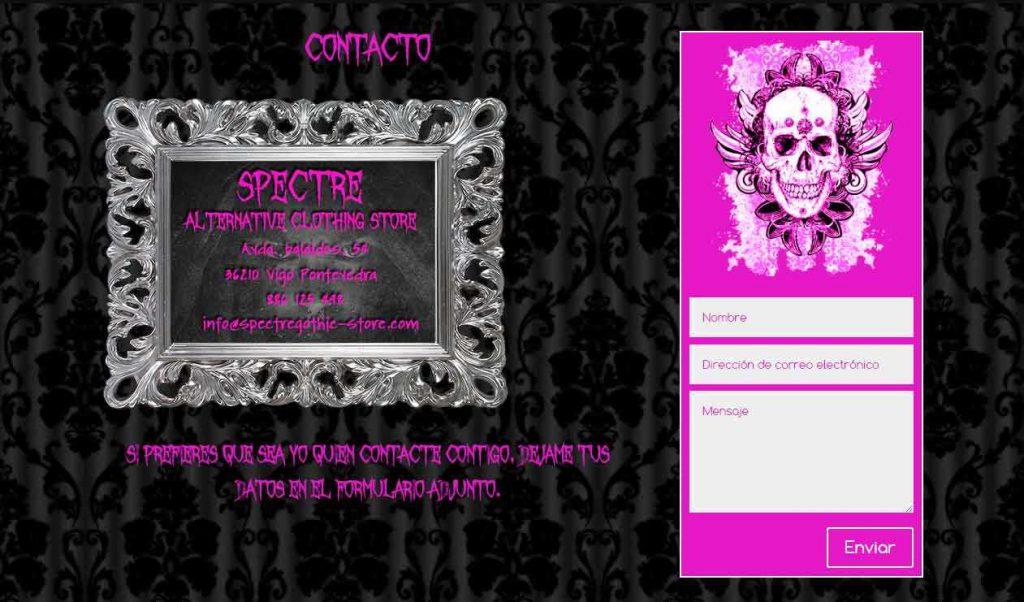 webficina portafolio web spectre 6
