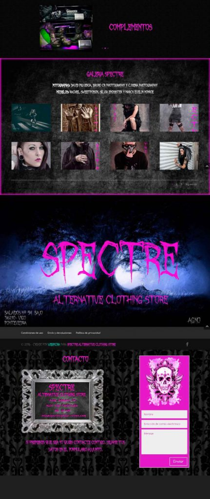 Webficina Portafolio Spectre 2